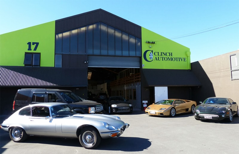 clinch automotive premises